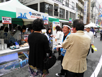 地域行事への参加「ぞうさんフェスタ2014」への出店参加