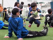 社会教育貢献「鹿児島ユナイテッドFCといっしょに親子サッカー教室」の開催